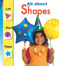 Storyteller Lift the Flaps Books, All About Shapes, Single Copy