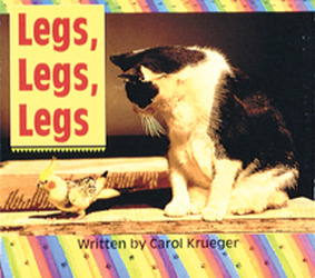 Wonder World, (Level B) Legs, Legs, Legs 6-pack