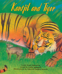 Story Vine Kantjil and Tiger (Single Copy)