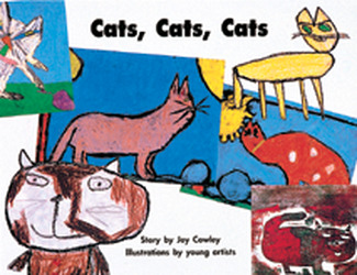 Story Basket, Cats, Cats, Cats, 6-pack