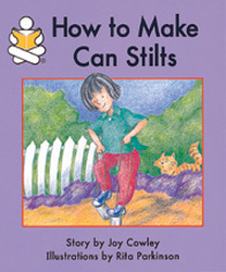 Story Box, (Level F) How to Make Can Stilts