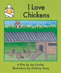 Story Box, (Level F) I Love Chickens