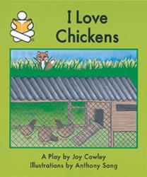 story box level f i love chickens rh mheducation com Joy Cowley Captain Felous Facee Book Joy Cowley