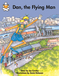 Story Box, (Early Emergent) Dan, the Flying Man, 6-pack