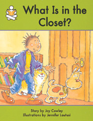 Story Box, (Upper Emergent) What Is In The Closet?
