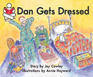 Story Box, (Level C) Dan Gets Dressed, Big Book
