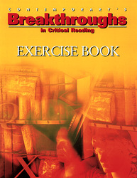 Breakthroughs In Critical Reading, Exercise Book