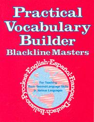 Practical Vocabulary Builder: Blackline Masters