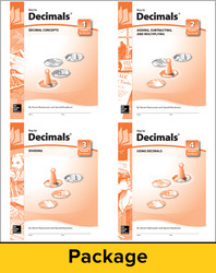 Key to Decimals, Books 1-4 Set