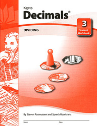 Key to Decimals, Book 3: Dividing