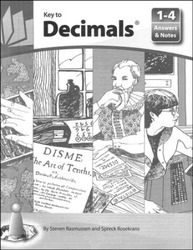 Key to Decimals, Books 1-4, Answers and Notes