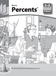 Key to Percents, Books 1-3, Answers and Notes