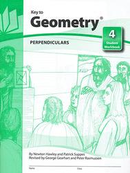 Key to Geometry, Book 4: Perpendiculars
