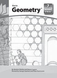 Key to Geometry, Book 7, Answers and Notes