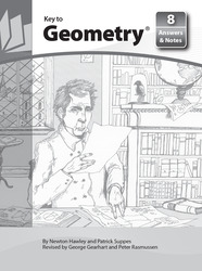Key to Geometry, Book 8, Answers and Notes