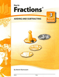 Key to Fractions, Book 3: Adding and Subtracting