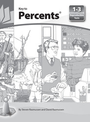 Key to Percents, Reproducible Tests for Books 1-3