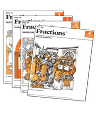 Key to Fractions, Books 1-4, Reproducible Tests
