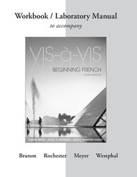 Workbook/Laboratory Manual to accompany Vis-à-vis