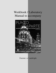 Workbook/Laboratory Manual to accompany Punto y aparte