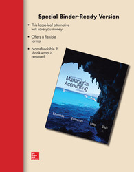 Loose Leaf Fundamental Managerial Accounting Concepts with Connect Access Card