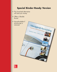 Loose Leaf Managerial Accounting with Connect Access Card