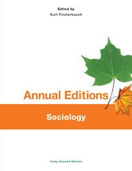 Annual Editions: Sociology, 42/e