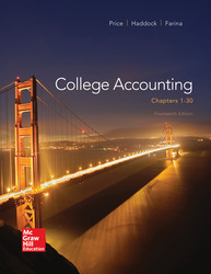 Loose Leaf College Accounting Chapters 1-30 with Connect Access Card