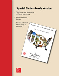 Looseleaf for US: A Narrative History, Volume 2: Since 1865