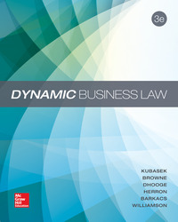 Dynamic Business Law with Connect Access Card