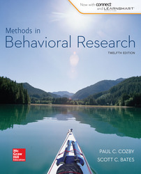 Looseleaf for Methods in Behavioral Research