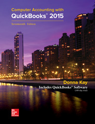 Computer Accounting with QuickBooks 2015