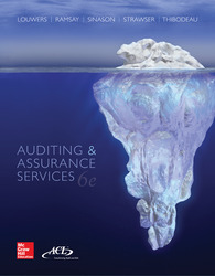 Loose Leaf Auditing & Assurance Services with ACL Software Student CD-ROM and Connect Access Card