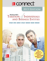 Connect 1-Semester Online Access for McGraw-Hill's Essentials of Federal Taxation, 2015 Edition