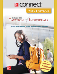 Connect 1-Semester Online Access for McGraw-Hill's Taxation of Individuals, 2015 Edition