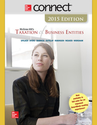 Connect 1-Semester Online Access for McGraw-Hill's Taxation of Business Entities, 2015 Edition