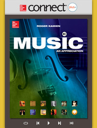 Connect 1-Semester Online Access for Music: An Appreciation
