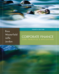 Corporate Finance: Core Principles and Applications with Connect Access Card