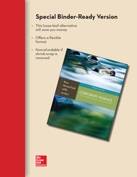 Loose-Leaf Corporate Finance: Core Principles and Applications with Connect Access Card