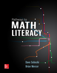 Pathways to Math Literacy (Loose Leaf)