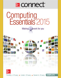 Connect Online Access for Computing Essentials 2015 Complete