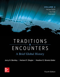 Traditions & Encounters: A Brief Global History Volume 2