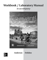 Workbook/Laboratory Manual for En avant