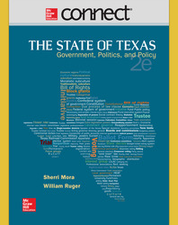 Connect Online Access for The State of Texas: Government, Politics, and Policy