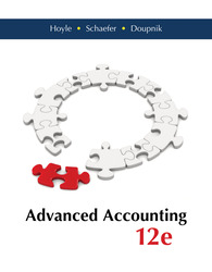 Advanced Accounting with Connect Access Card