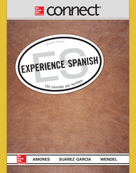 Connect Online Access for Experience Spanish