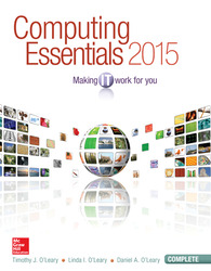 Computing Essentials 2015 Complete Edition with Connect Access Card