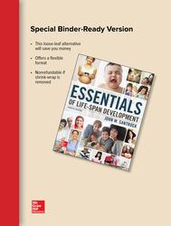 Looseleaf for Essentials of Life-Span Development