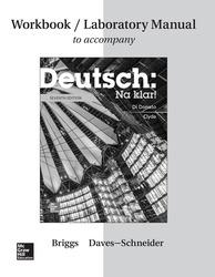 Workbook/Lab Manual for Deutsch: Na klar!