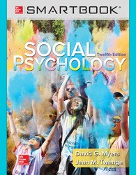 SmartBook Standalone Online Access for Social Psychology